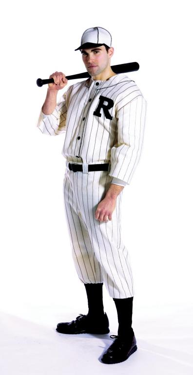 Old Tyme Baseball Player Adult Costume