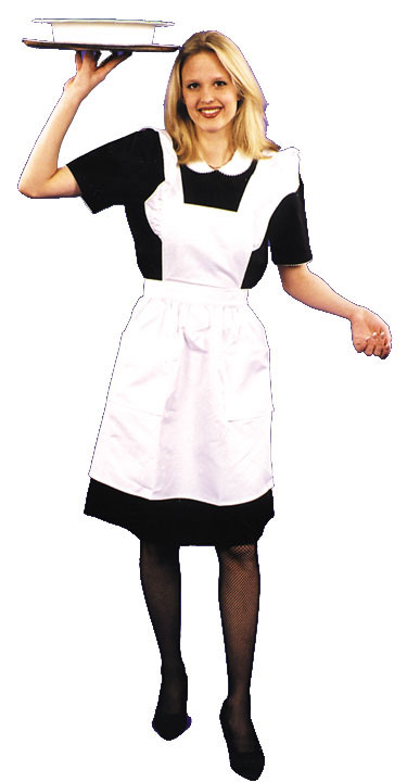 Diner Car Waitress Adult Costume
