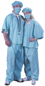 Doctor Doctor Adult Costume