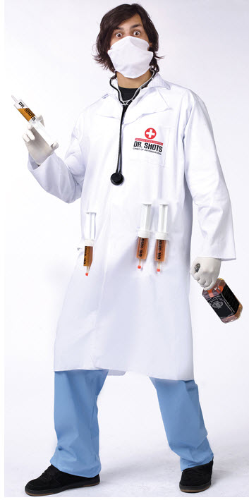 Dr Shots Adult Costume
