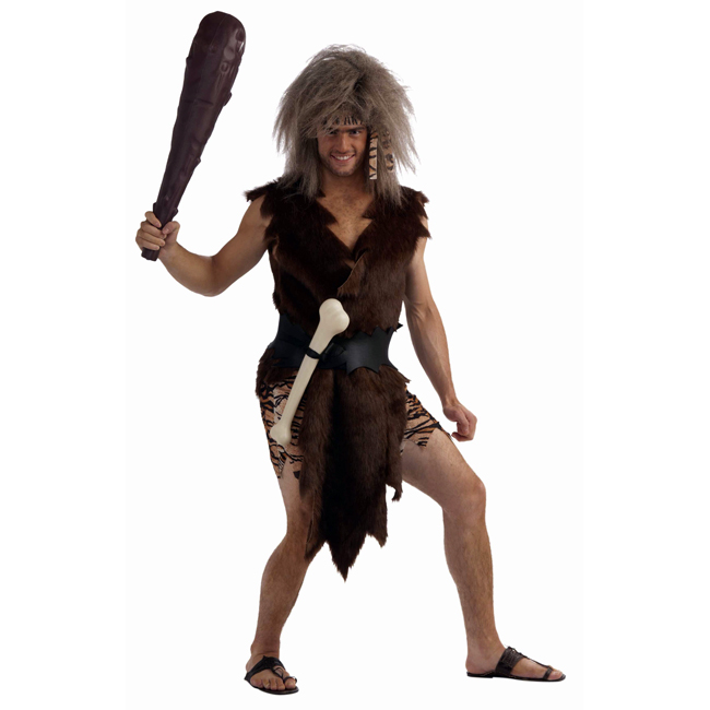 Boner the Caveman Funny Adult Costume