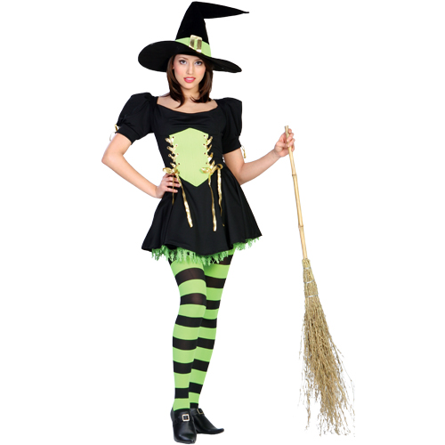 The Emerald Witch Adult Costume