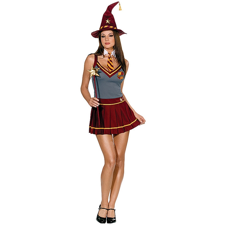 Wizard Academy School Girl Adult Costume