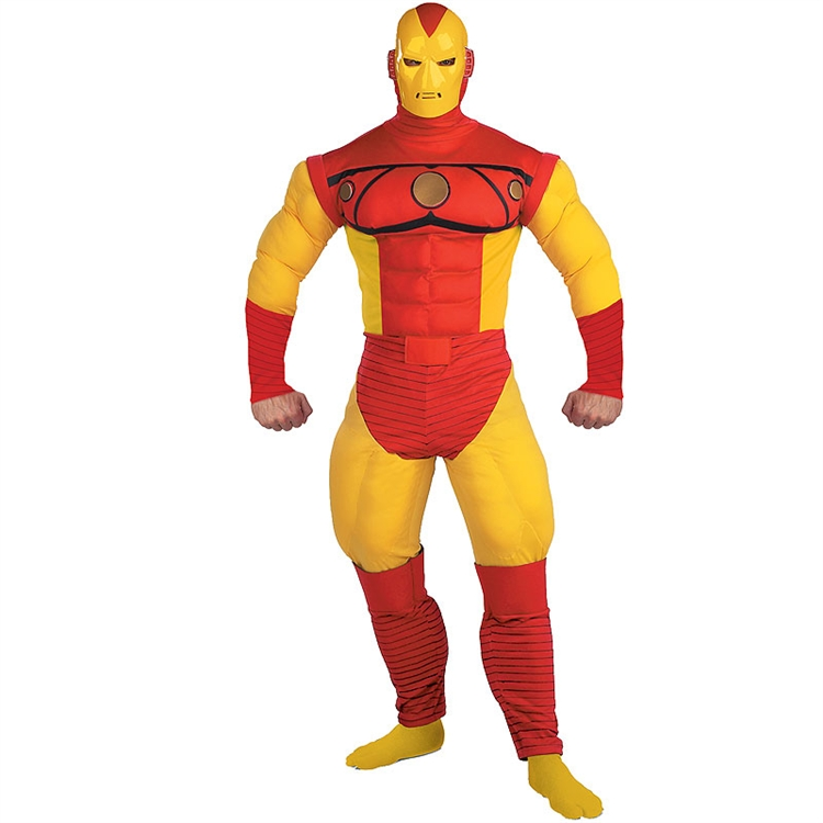 Iron Man Deluxe Muscle Adult Costume