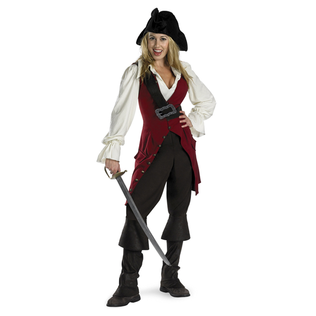 Pirates of the Caribbean Elizabeth Swann Adult Costume
