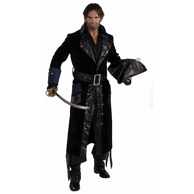 Super Deluxe Blackbeard Adult Costume