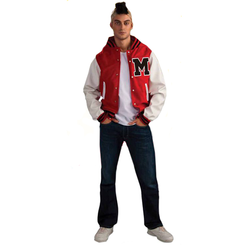 Glee Puck Football Player Adult Costume