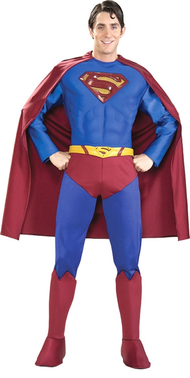 Collector's Edition Superman Muscle Chest Costume