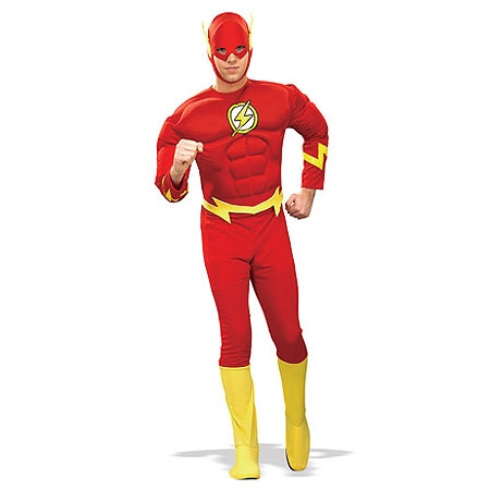 Muscle Chest Flash Adult Costume