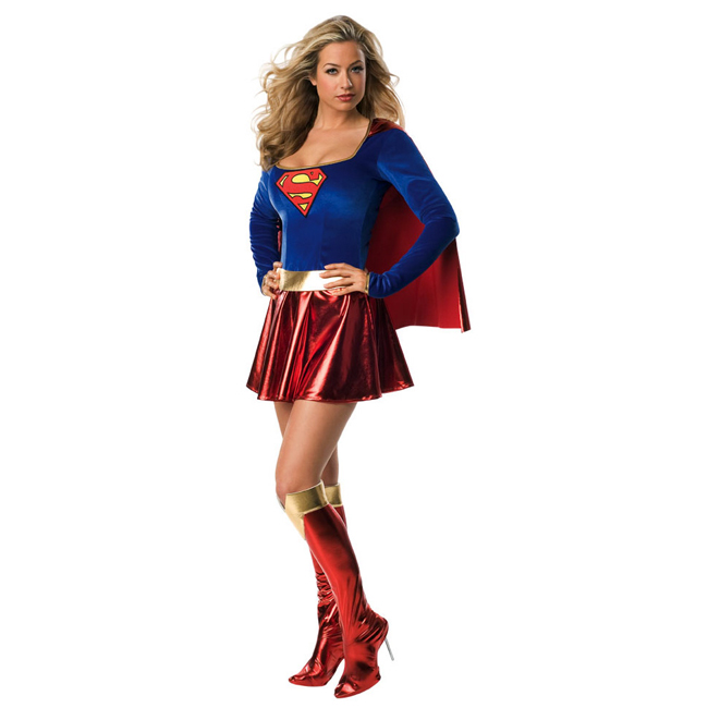 Supergirl Sexy Adult Costume