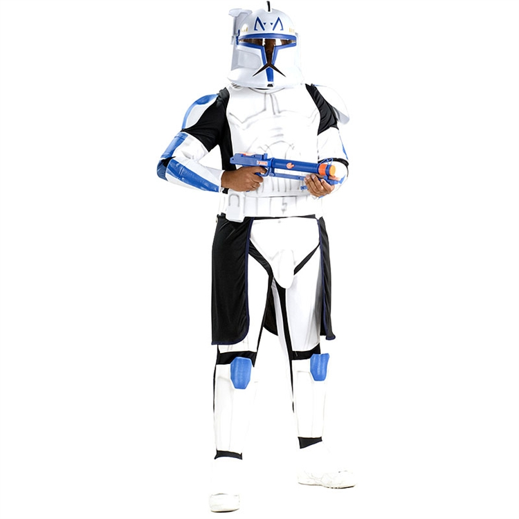 "Deluxe EVA Clone Trooper Leader ""Rex"" Adult Costume"
