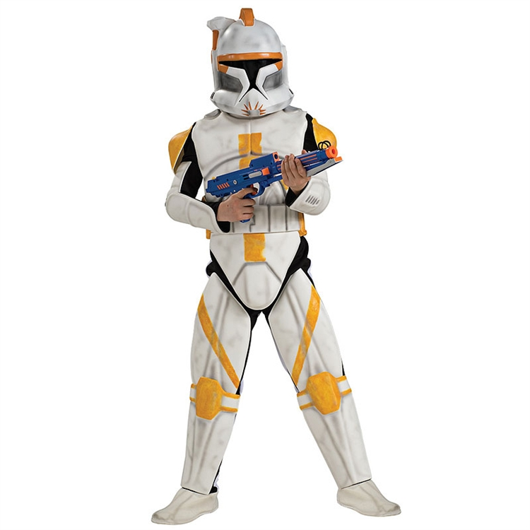 "Deluxe EVA Clone Trooper Commander ""Cody"" Adult Costume"