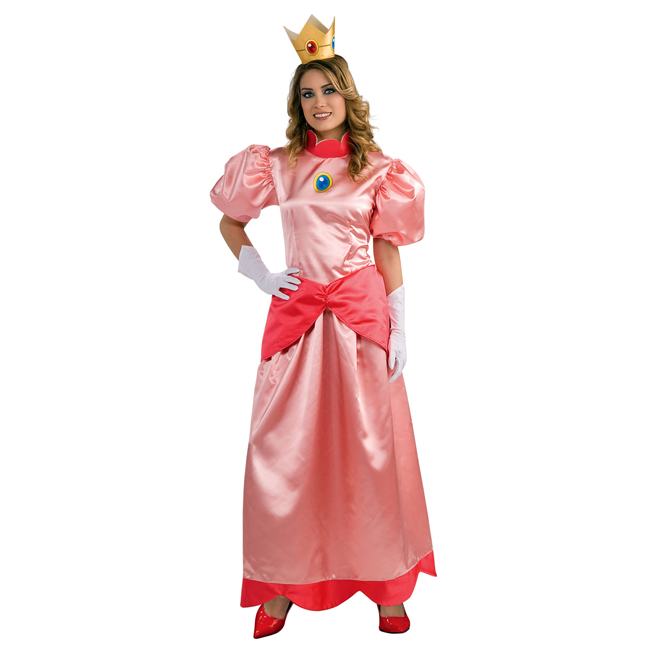 Nintendo Princess Peach Deluxe Adult Costume