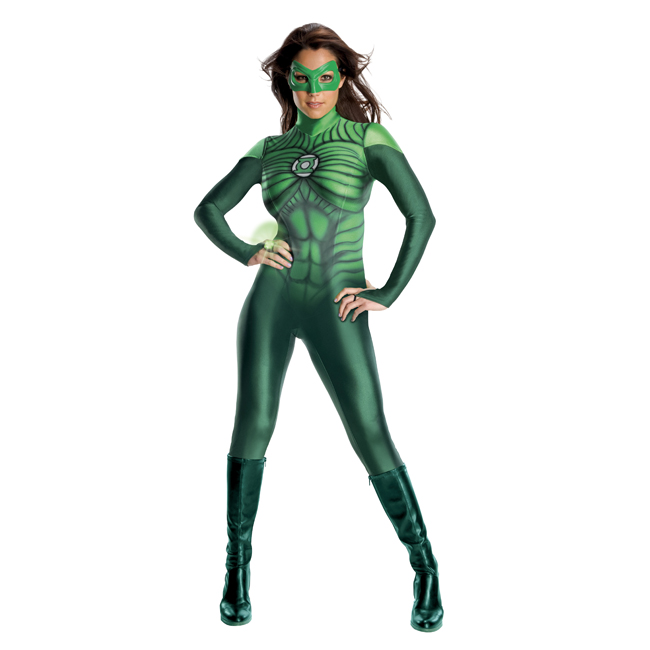 Green Lantern Uniform Sexy Costume
