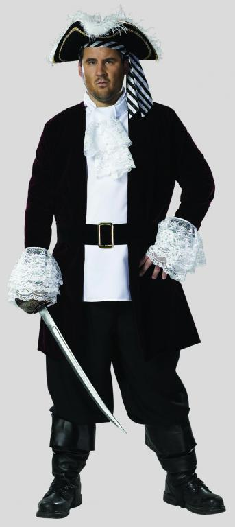 Pirate Captain Plus Size Adult Costume