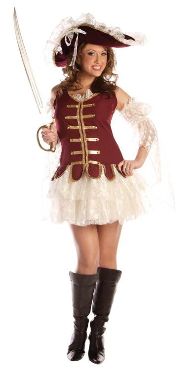 Treasure Adult Costume With Hat
