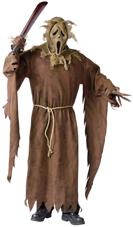Ghost Face Scarecrow Adult Costume