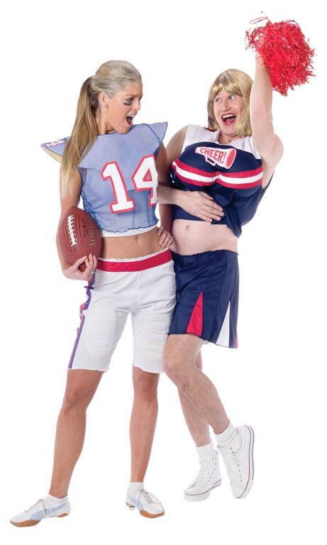 Football Player Girl Adult Costume