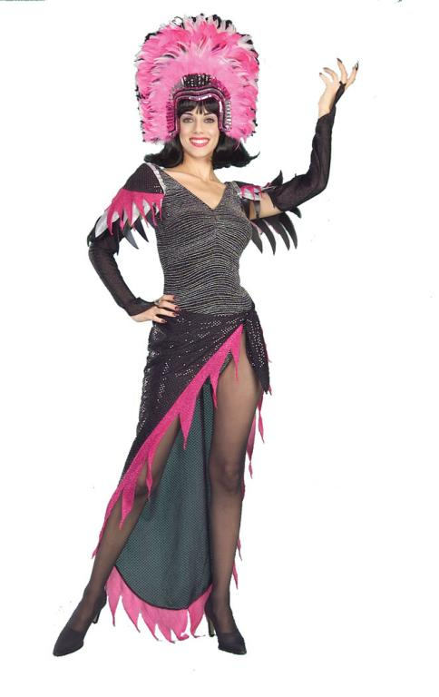 Pink Flamingo Show Girl Adult Costume