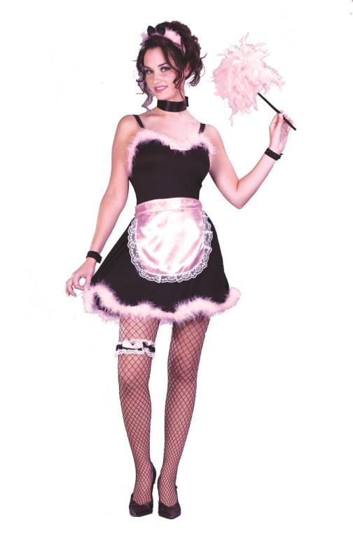 Hot French Maid Adult Costume