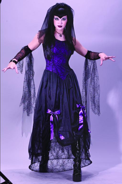 Goth Spider Princess Adult Costume
