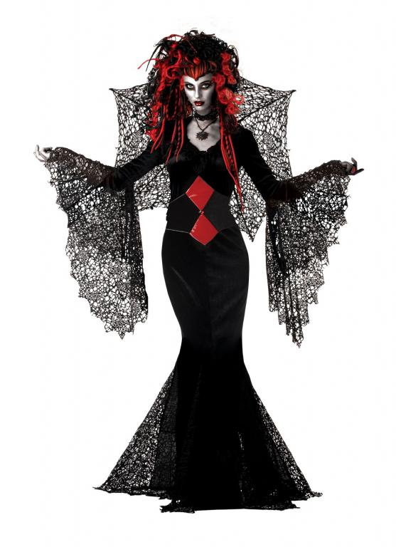 Nightmare Black Widow Adult Costume Large