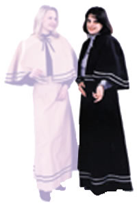 Temperance Dress Black, Adult Costume