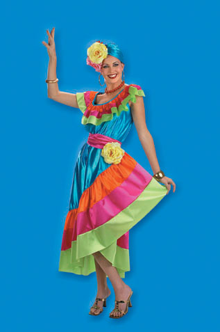 Tropicana Anna Adult Costume