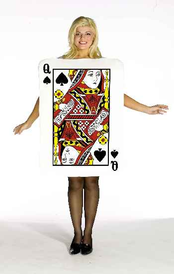 Queen Of Spades Adult Costume