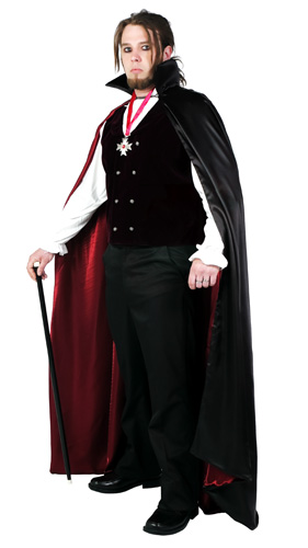 Elite Mens Gothic Vampire Costume