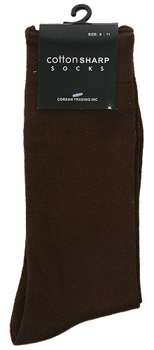 Men's Brown Socks