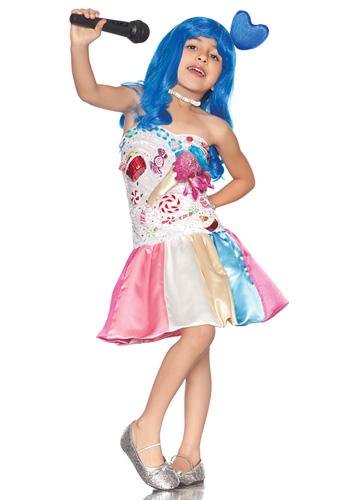 Girls California Candy Costume