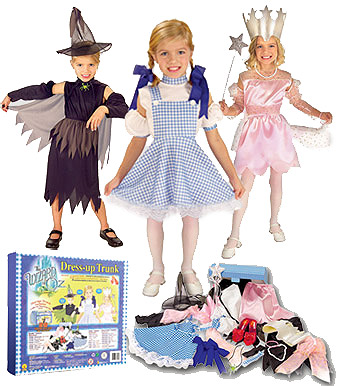 Girls Wizard of Oz Costume Kit