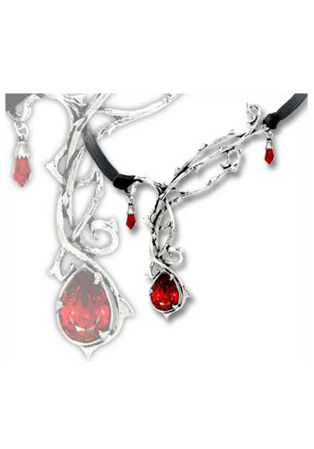 Red Gem Passion Necklace