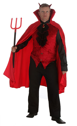 Plus Size Elite Devil Costume
