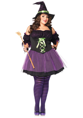 Plus Size Vixen Witch Costume