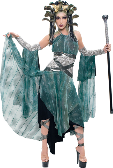 Medusa Adult Costume: Medium