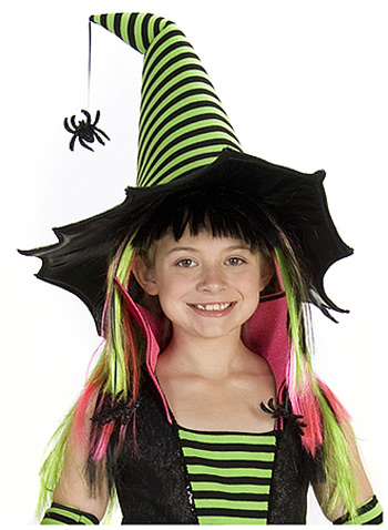Spiderina Witch Wig