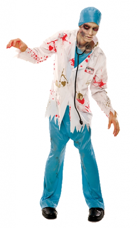Dr Rotten Zombie Costume