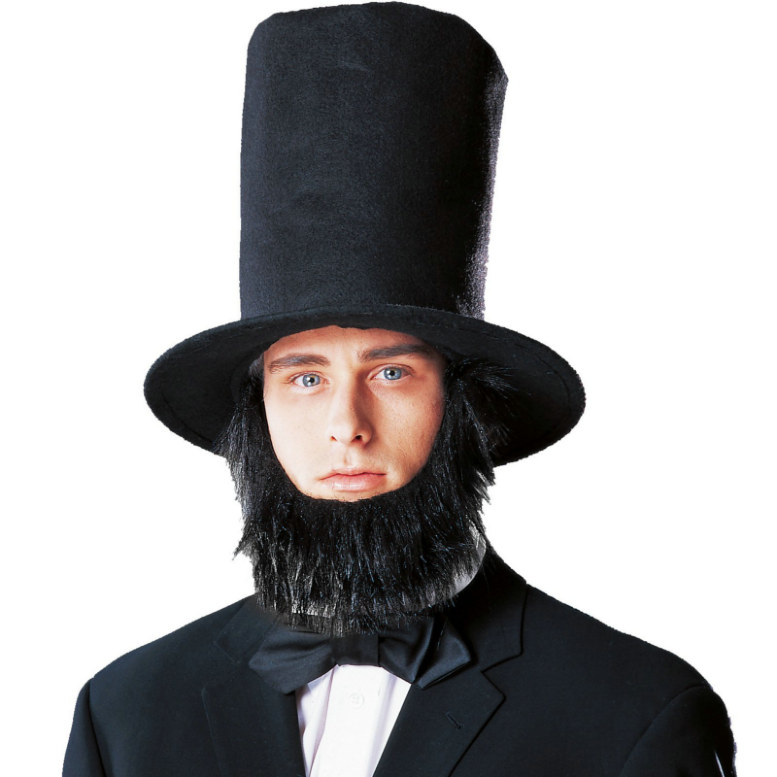 Lincoln Hat with Beard