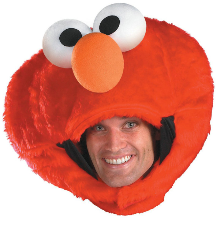 Sesame Street Elmo Adult Headpiece