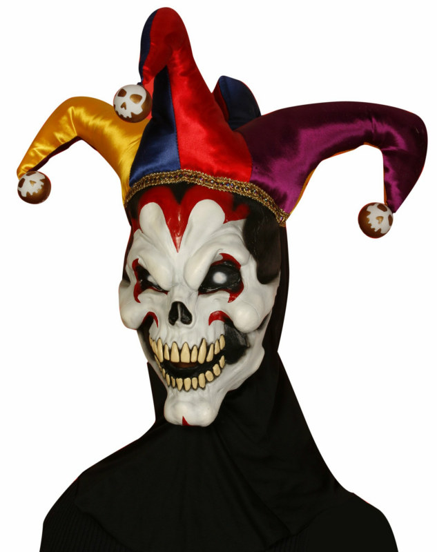 Wicked Jester Adult Mask