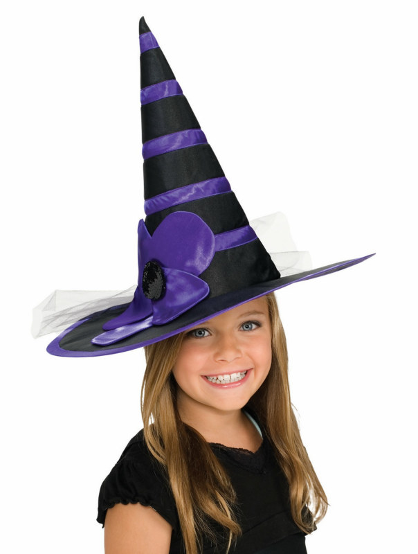 Child Purple Witch Hat