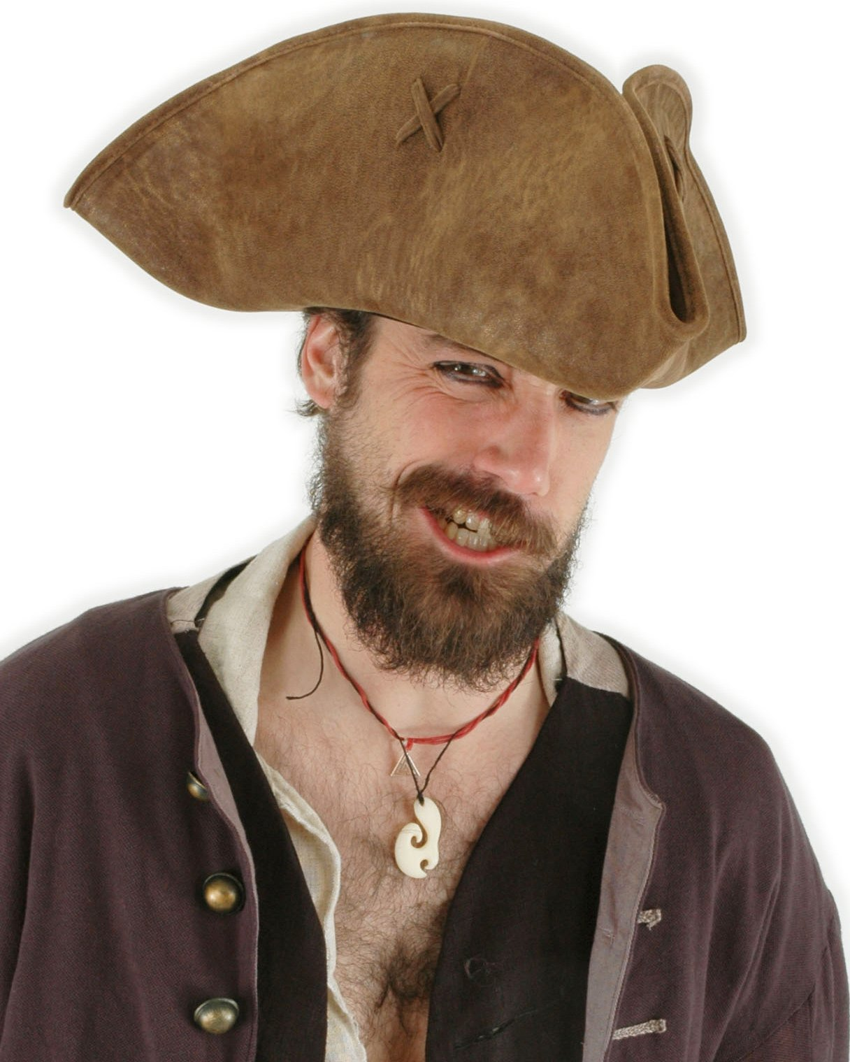 Pirates of the Caribbean - Jack Sparrow Adult Hat