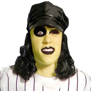 Baseball Furies Cap with Wig