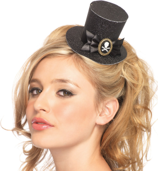 Mini Top Hat (Black) Adult