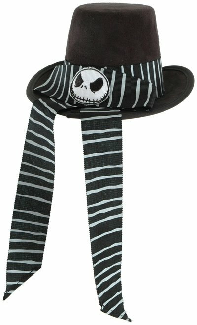 The Nightmare Before Christmas - Victorian Jack Mini Top Hat Adu