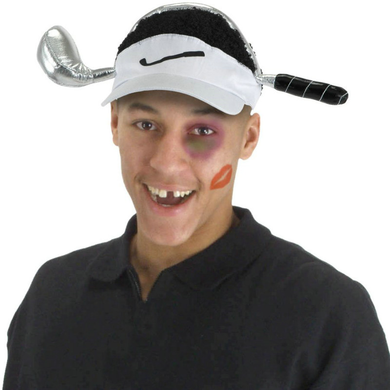 Cheetah Woods Visor Adult