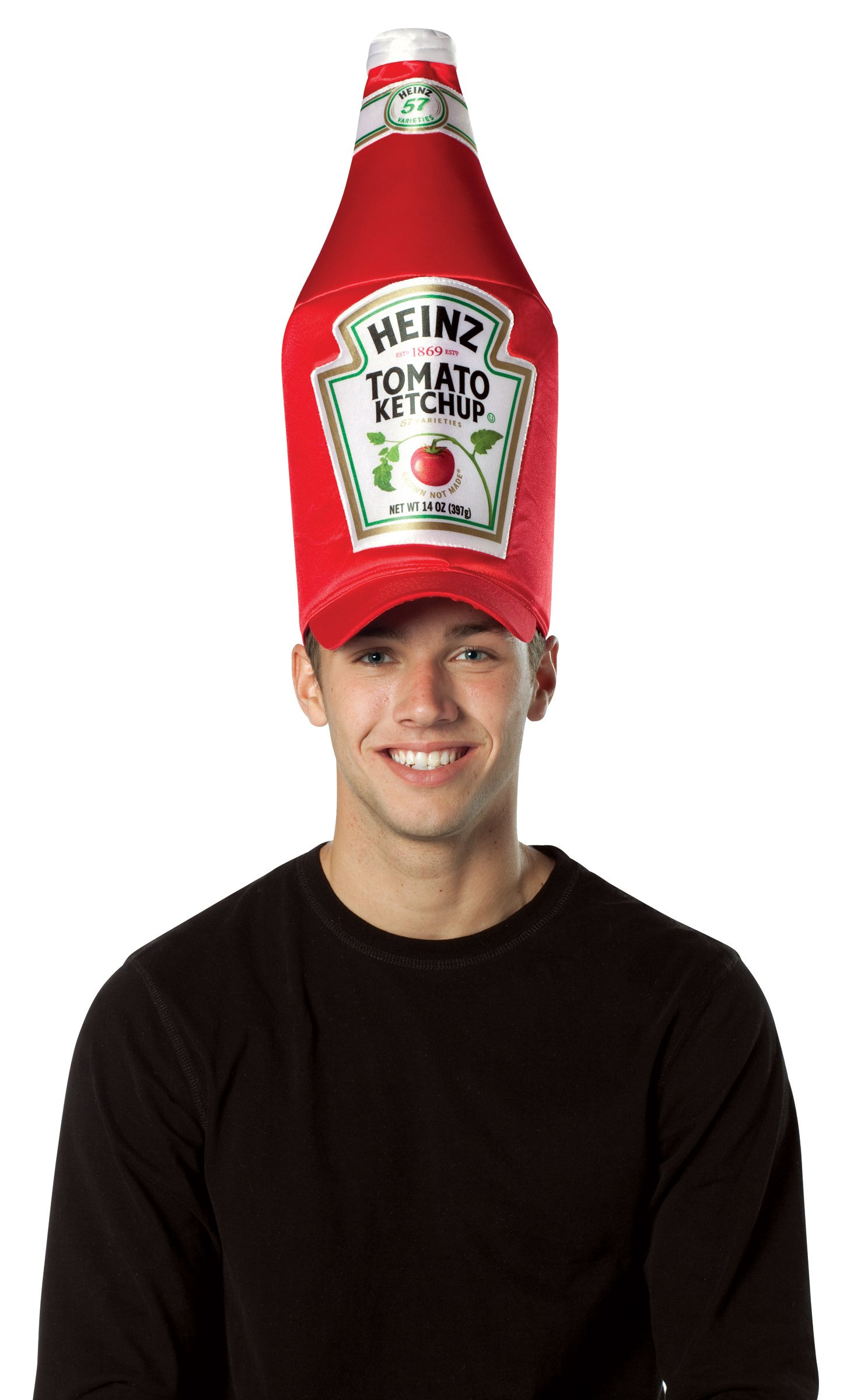 Heinz Classic Ketchup Bottle Hat (Adult)