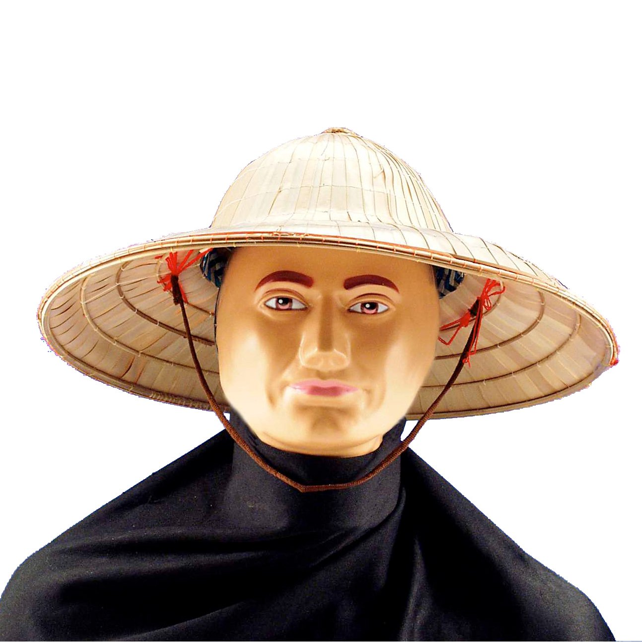 Chinese Bell-Shaped Straw Hat (Adult)